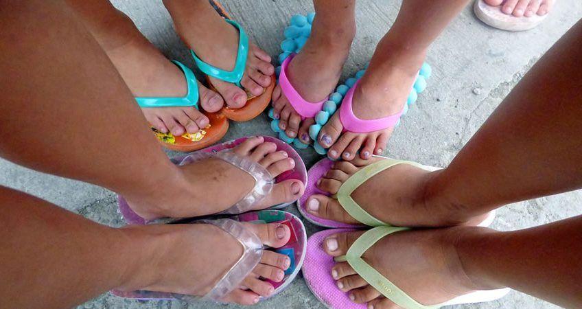 Salud de los pies en verano